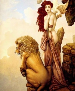 lion and the maiden
